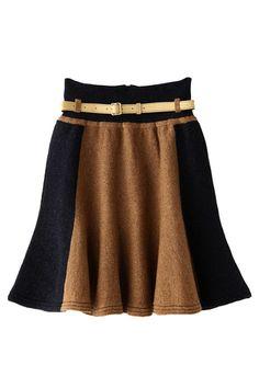 iliann loeb  ペプラムスカート