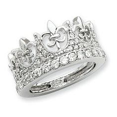 since wearing tiaras are now looked down upon i think i should be allowed to wear a tiara ring. :)