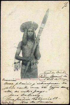 1903 Brazil Indio Apurima Amazonas