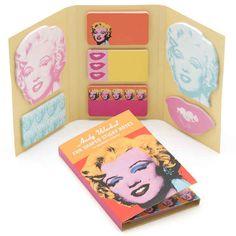 Deja tus notitas con el sello de Andy Warhol: