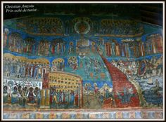 Voroneț Monastery - IN the north of Moldova, On the UNESCO world heritage list :)
