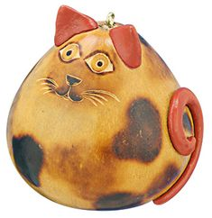 Free Gourd Patterns To Print | Animal Rescue - Pet Shop - Ceramic Accented Cat Gourd