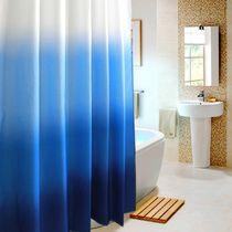 Rideau de douche en tissu Flora SENSEA, gris, 180 x 200 cm | créa ...