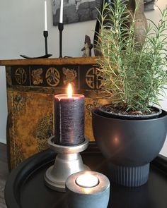 Interior Styling, Interior Design, Planter Pots, Candle Holders, Sweet Home, Candles, Home Decor, Interior Decorating, Nest Design