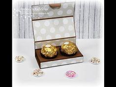 Tutorial für eine SchokoKugel Box Mein Blog: http://kaybehybrid.blogspot.de Stempel: - mix and match designs von docrafts - Darcies