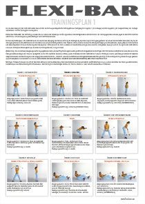 Flexibar-Trainingsplan Rückenübungen