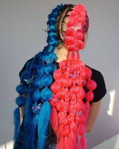Braided Hairstyles For Teens, Crown Hairstyles, Rave Hair, Gypsy Hair, Wacky Hair, Braids With Extensions, Business Hairstyles, Festival Hair, Coloured Hair