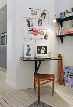 Love this little office nook.