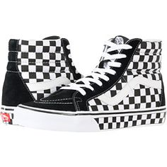 92c88fd809 Vans SK8-Hitm Core Classics Shoes (Checkerboard) Black Pewter ...
