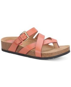 76245ad99445e Sofft Brooke Footbed Sandals Women s Shoes (886553448946) A relaxed thong  slide with a plush