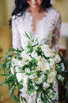 Arina B Photography | Coordination: Lavish Weddings | Floral Design: ArtQuest Flowers | Bridal Makeup: Love P Beauty | Bridal Hair: SoCal Hair & Makeup | Bridal Prep Venue: The Westgate Hotel via CeremonyMagazine.com