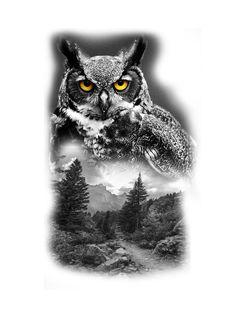 Realistic Tattoo Sleeve, Nature Tattoo Sleeve, Sleeve Tattoos, Forest Tattoos, Nature Tattoos, Body Art Tattoos, Wolf Tattoos, Feather Tattoos, Animal Tattoos