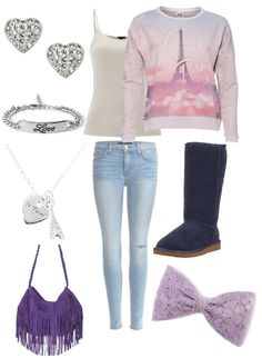 Polyvore outfit I created