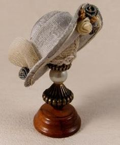 Miniature Victorian Hats and Bonnets by Miss Amelia