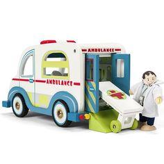 Ambulancia de madera - Le Toy Van