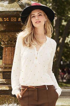 Next Bestickte Bluse im Universal Online Shop