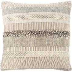 Georgia Dark Pillow In Grey Pillows Linen Pillows