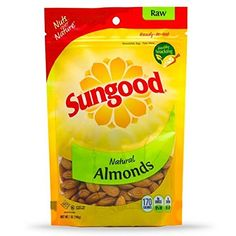 Sungood Raw Natural Almonds, Fresh and Delicious, 7oz - KOSHER *** Click now. Unbelievable product right here! : Fresh Groceries