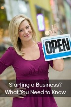 Thinking about starting your own business? Here's what you need to know via @GoGirl Finance business ideas #smallbusiness small business ideas wahm ideas