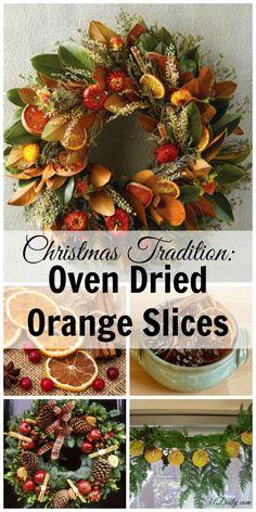 Christmas Dried Orange Slices | 31Daily.com
