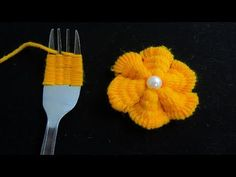 Hand Embroidery Amazing Trick # Sewing Hack with Hizab Pin # Simple Flower Embroidery . - Hand Embroidery Amazing Trick # Sew Hack with Hizab Pin # Simple Flower Embroidery … – - Hand Embroidery Flowers, Hand Embroidery Designs, Ribbon Embroidery, Embroidery Patterns, Sewing Patterns, Embroidery Art, Embroidery Stitches, Crochet Patterns, Yarn Flowers