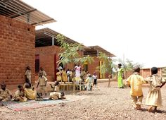 Escuela de Educación Infantil in Koudougou in Africa is one building that makes up the new cultural centre Le Village Laafi. Local materials and labour with innovative construction hopes to create buildings that will serve the community for some time.