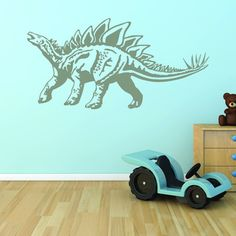 Shop for Style and Apply Stegosaurus Dinosaur Vinyl Wall Decal and Sticker Mural Art Home Decor and more for everyday discount prices at Overstock.com - Your Online Art Gallery Store!