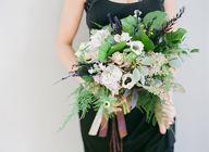 Blue Hydrangea Wedding Bouquet   Paradise Florist