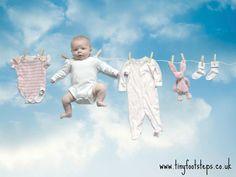 DIY Photoshoot: Washing Line Baby