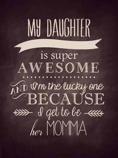 "I like the lettering style on ""my daughter"" - want to learn that"