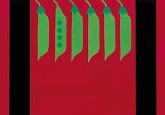 tovaglietta (americanino) realizzata con veline e plastificata per Orto Damare