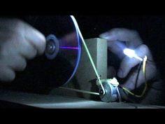Como fazer um gerador (de verdade) com um DVD player