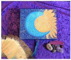 Do you need somewhere to store your precious Tarot or Angel Cards? A beautiful addition to your Altar.  This hand painted Celestial box is lockable and perfect for keeping your special items safe.  This is one of a kind! I may make more similar to this, but I rather like creating individual items so you get something that nobody else has! You might have hundreds of crystals laying around that deserve a fabulous new home?  Or maybe you need somewhere to keep your most favourite jewellery?…