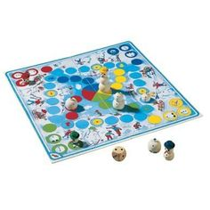 Haba Snowman Game by Haba. $35.09. A competition game for 2-4 players ages 4 and older. Made in Germany. Game time: 15-20 minutes. Includes game instructions for a game variation for 6 years and older. Hurry! It's snowing! Let's build a snowman. Three snowballs roll across the snowy roads and are quickly assembled on the colored spaces in front of the finish. Who will be able to protect his/her own snowman from the sun and bring him to the finish line first?    A competitive game...