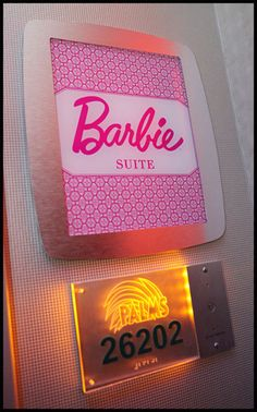 Bucket list: stay at the Barbie suite at the Palms.