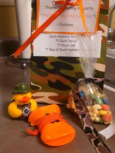 Duck Dynasty party favor