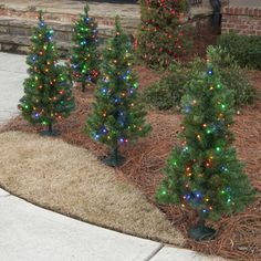 22 Charming Outdoor Christmas Tree Decorations You Must Try this ...