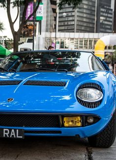 Lamborghini Miura- the car that truly began the mid-engine super car craze.