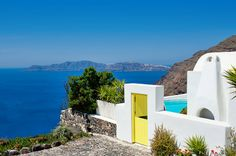 Craving some Santorini escapism? World's away at Architect's House | Luxury Hotels Travel+Style