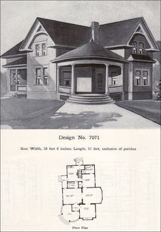 Victorian stick-style house house plans, 1878 - see the \
