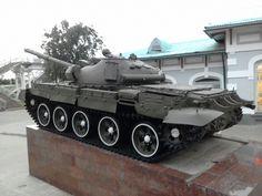 Т-62М  в качестве памятника на станции  Кубинка