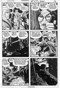 Alex Toth Black Canary Adventure 419 pg 2, in Gary Land's Alex Toth Memorial Gallery Comic Art Gallery Room - 573723