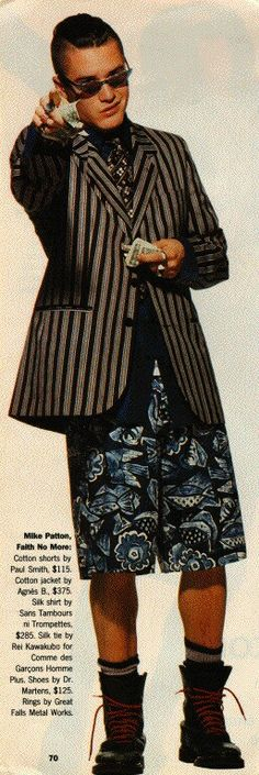 Mike Patton (Definitely not missing 90's fashion ;)