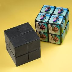 Personalized Rubik's Cube makes the best gift ever!  How-to video and supplies at little-windows.com