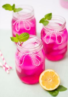 Dragon Fruit Pink Lemonade anyone?  Click for recipe #FridayFlow #PinkLemonade #PitayaPlus