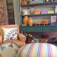 Updating your home? The hot look is all about Color & we are loving it!