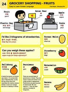 Learning Korean: supermarket