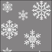 Assorted Snowflakes.
