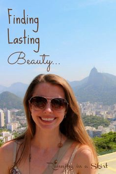 Finding Lasting Beauty - What is considered beautiful around the world? What are some of the secrets to lasting beauty from other women with different cultures. Some of the answers may surprise you.  | Running in a Skirt #ad
