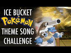 Ice Bucket & Pokemon Theme Song ALS Challenge